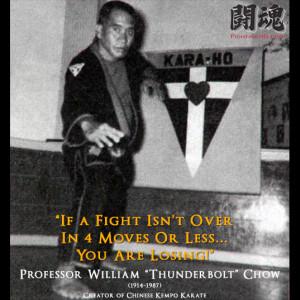 Professor William Kwai Sun Chow Quote