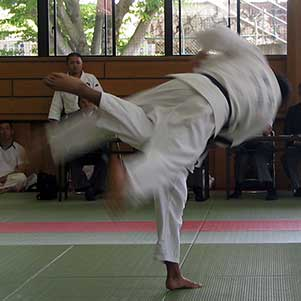 Uchimata - Judo Throw