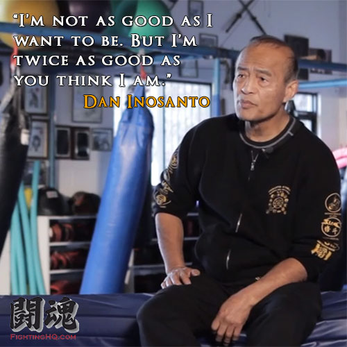guro dan inosanto quote twice as good martial arts styles