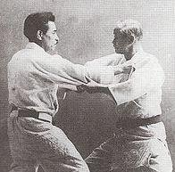 Kyuzo Mifune and Jigoro Kano