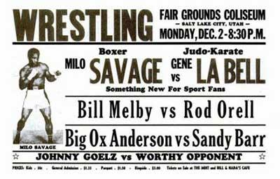 Milo Savage vs Gene LeBell